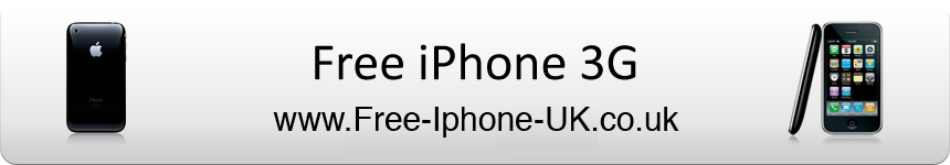 Get a Free iPhone 3G at www.free-iphone-uk.co.uk!